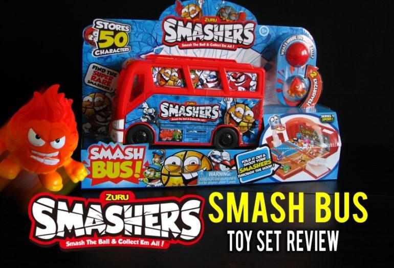 Zuru Smashers Smash Bus collectible toy review – Ren's