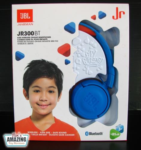 Jbl Jr300bt Kids Wireless Bluetooth On Ear Headphones Review Ren S Amazing Toys